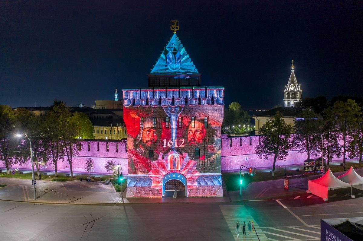 ВДень города наНижегородском кремле появится праздничная подсветка