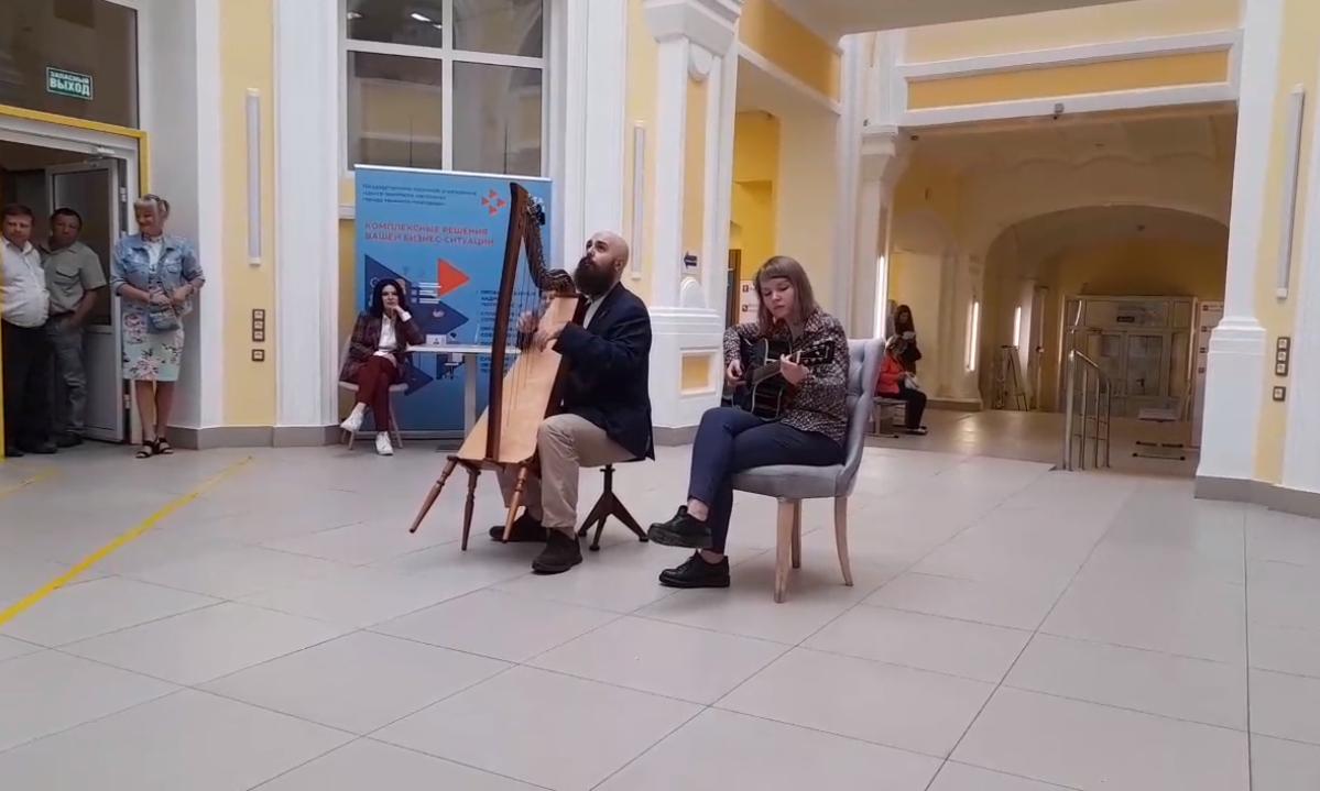 Музыканты выступили для соискателей в Центре занятости Нижегородской области
