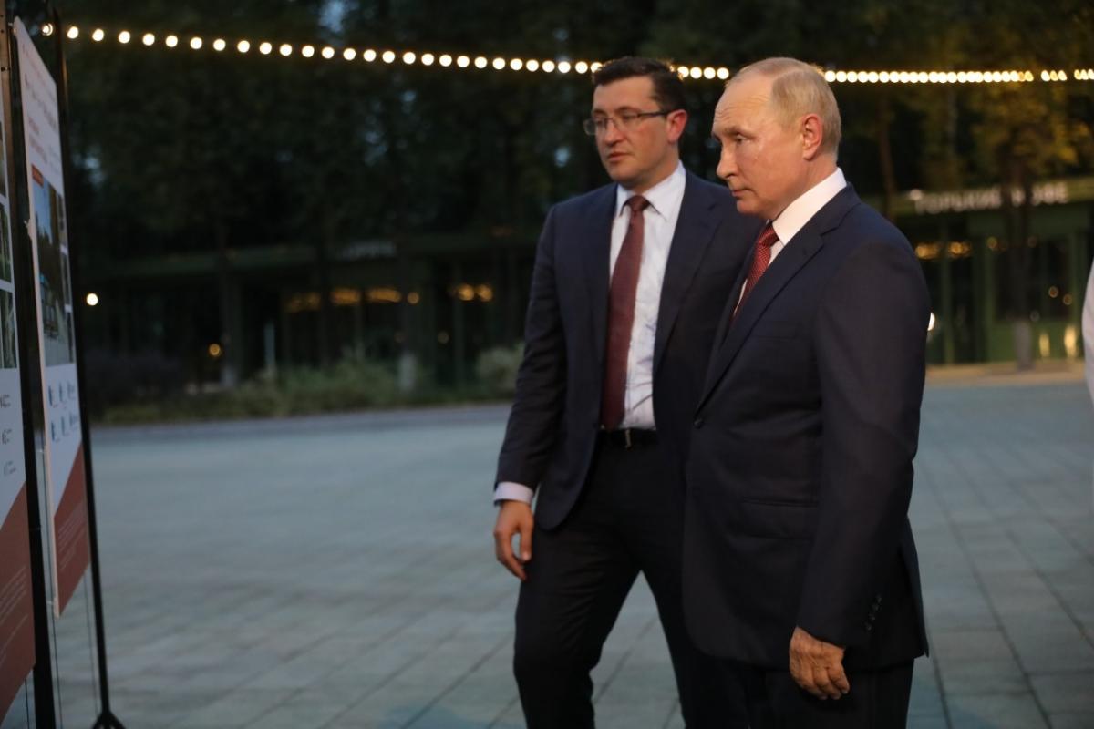 Владимир Путин: «Нижний Новгород преобразился ипродолжает свое развитие»