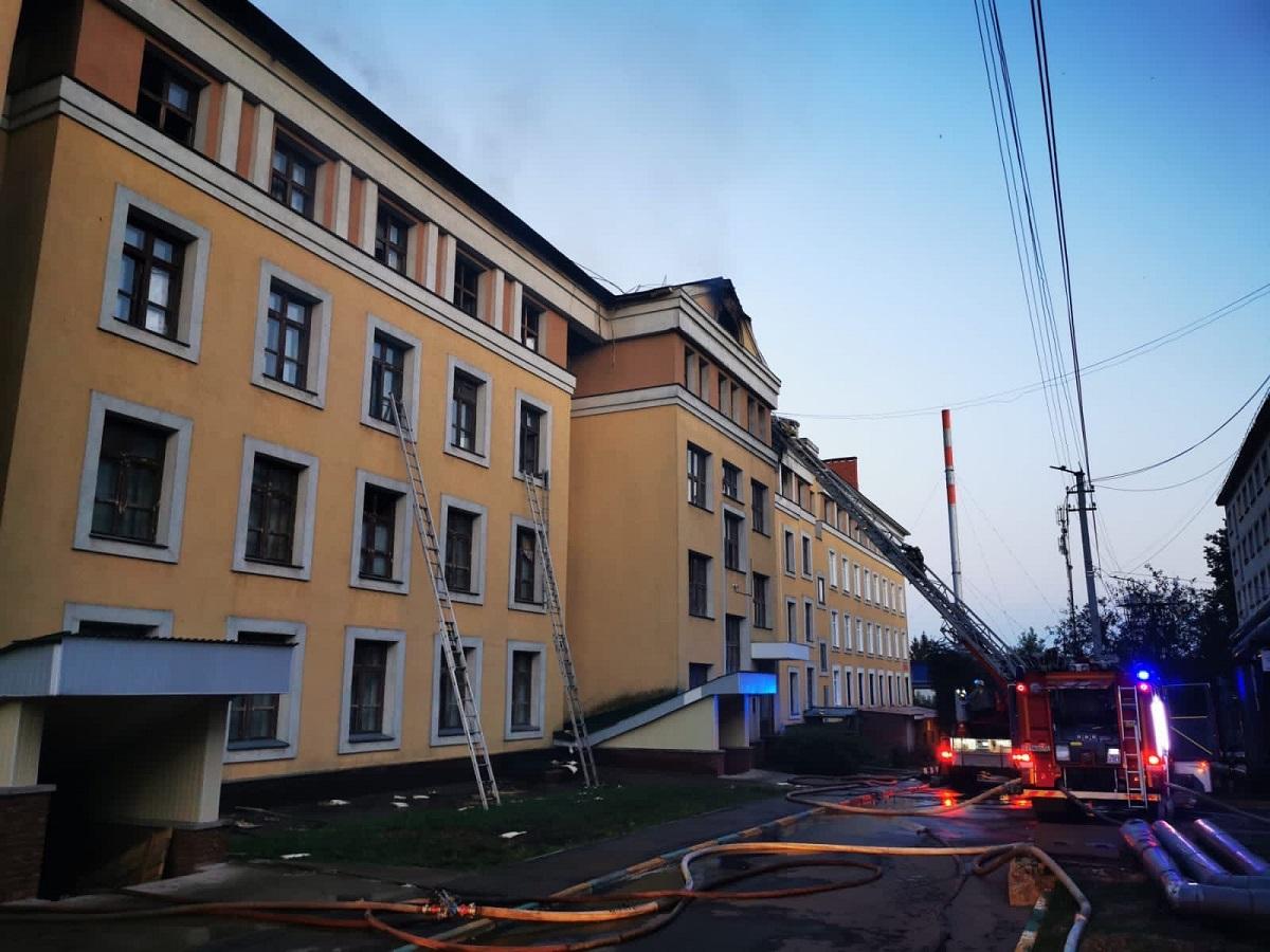 Прокуратура организовала проверку по факту пожара в общежитии ПИМУ