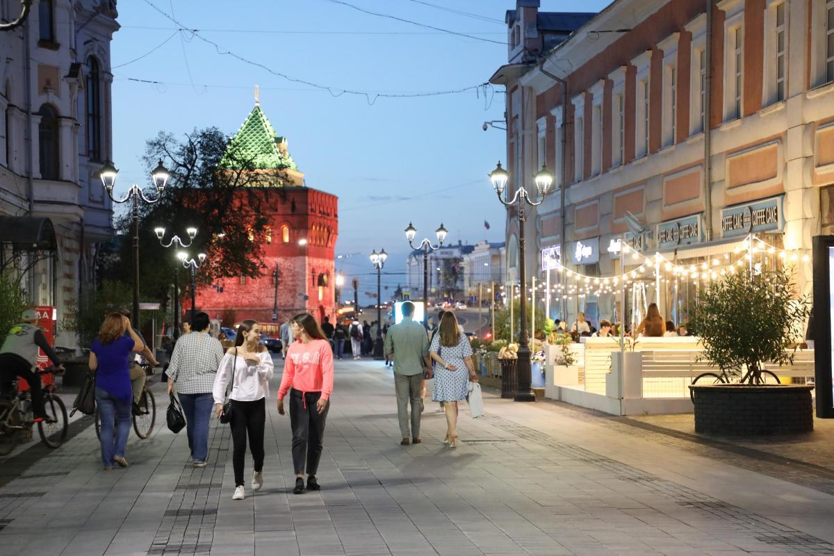 Теплая погода ожидается на новой рабочей неделе в Нижнем Новгороде