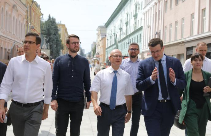 Сергей Кириенко проинспектировал подготовку к 800-летию Нижнего Новгорода