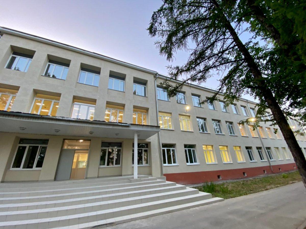 Школа №171 в Нижнем Новгороде готова к приему учеников после капремонта