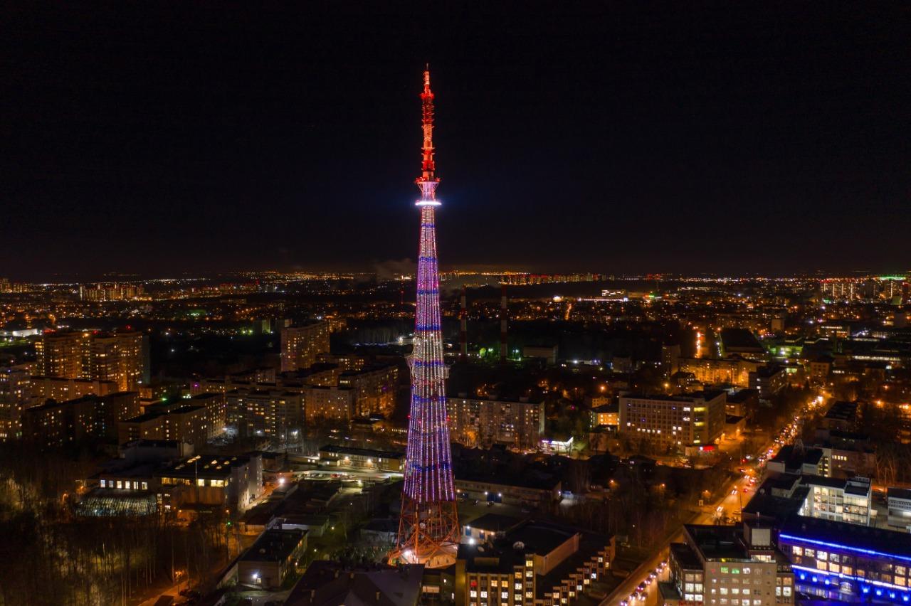 Праздничная подсветка украсит главную телебашню региона вчесть 800-летия Нижнего Новгорода