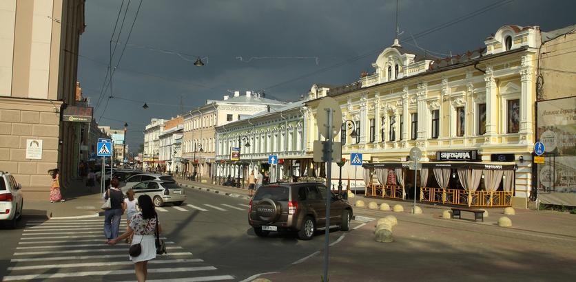 Режим ЧС на улице Рождественской в Нижнем Новгороде отменили после сноса аварийного здания
