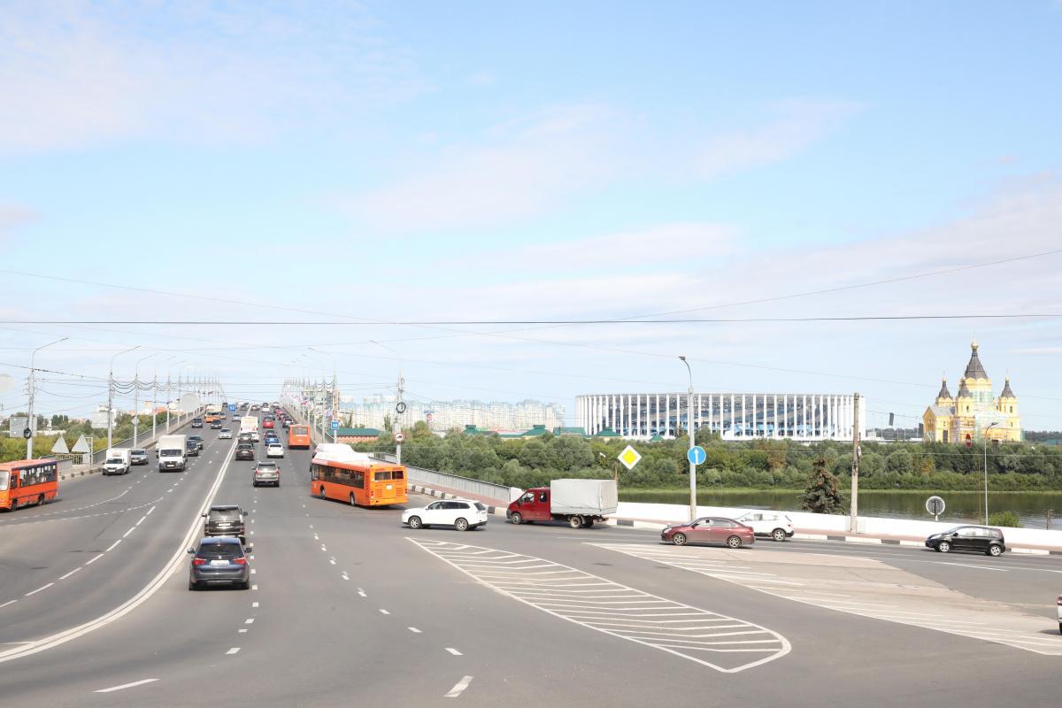 Движение транспорта временно ограничат в районе Нижневолжской и Волжской набережных в Нижнем Новгороде