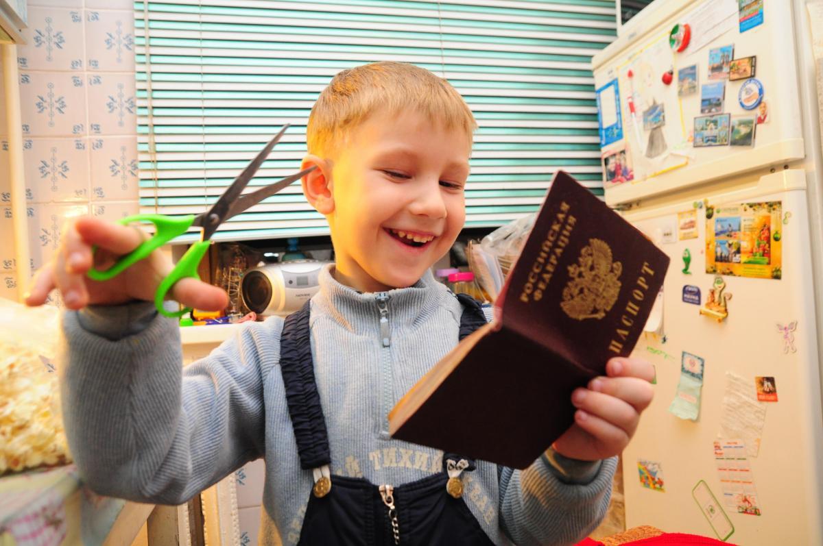 Бумажный паспорт россиянам заменят на карту с чипом