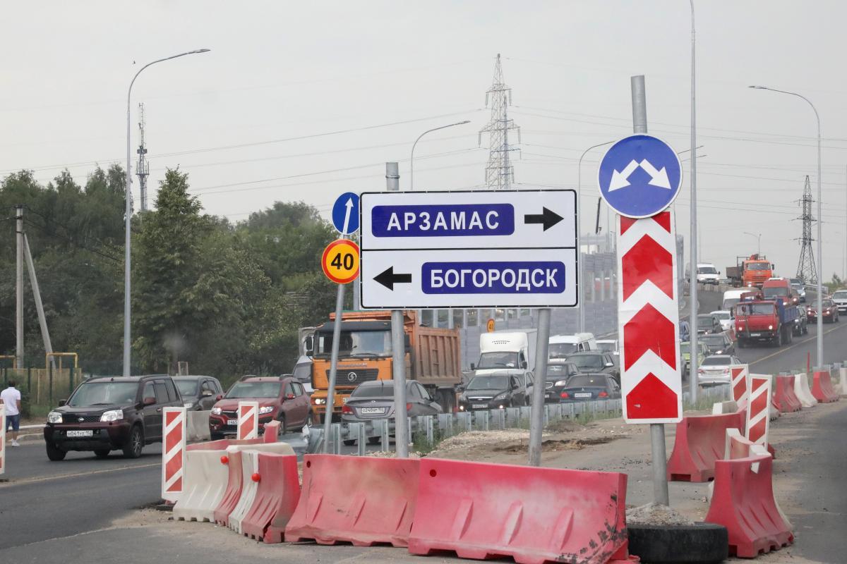 Новую развязку в деревне Ольгино откроют в сентябре