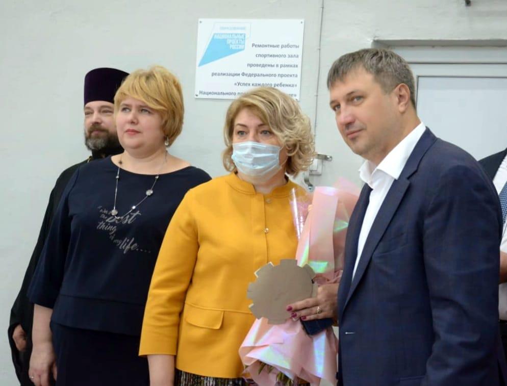 Иван Носков принял участие в праздновании Дня знаний