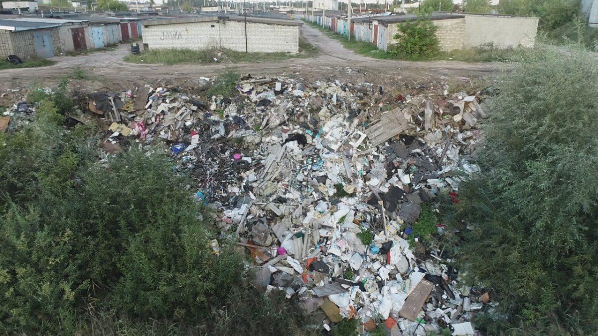 В Дзержинске приступили к ликвидации крупной свалки вблизи Заревской объездной дороги