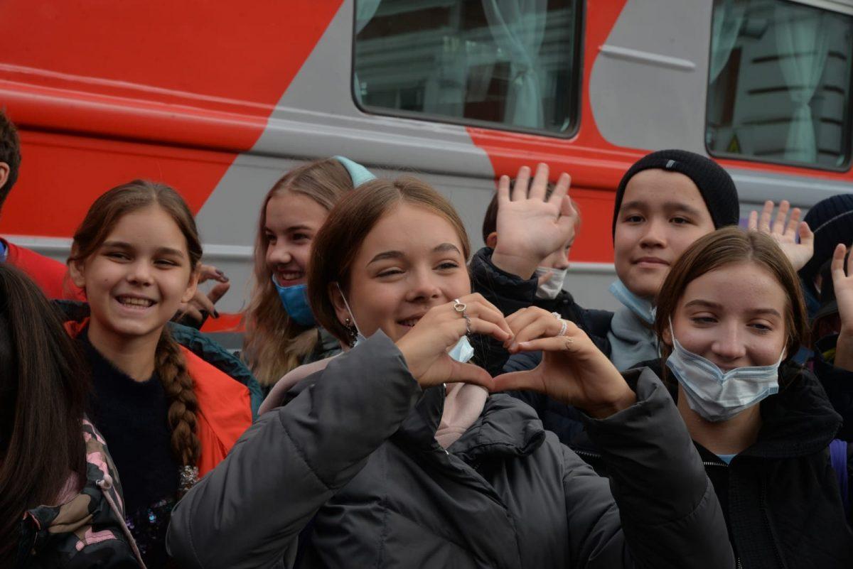 Поезд «Большой перемены» прибыл вНижний Новгород
