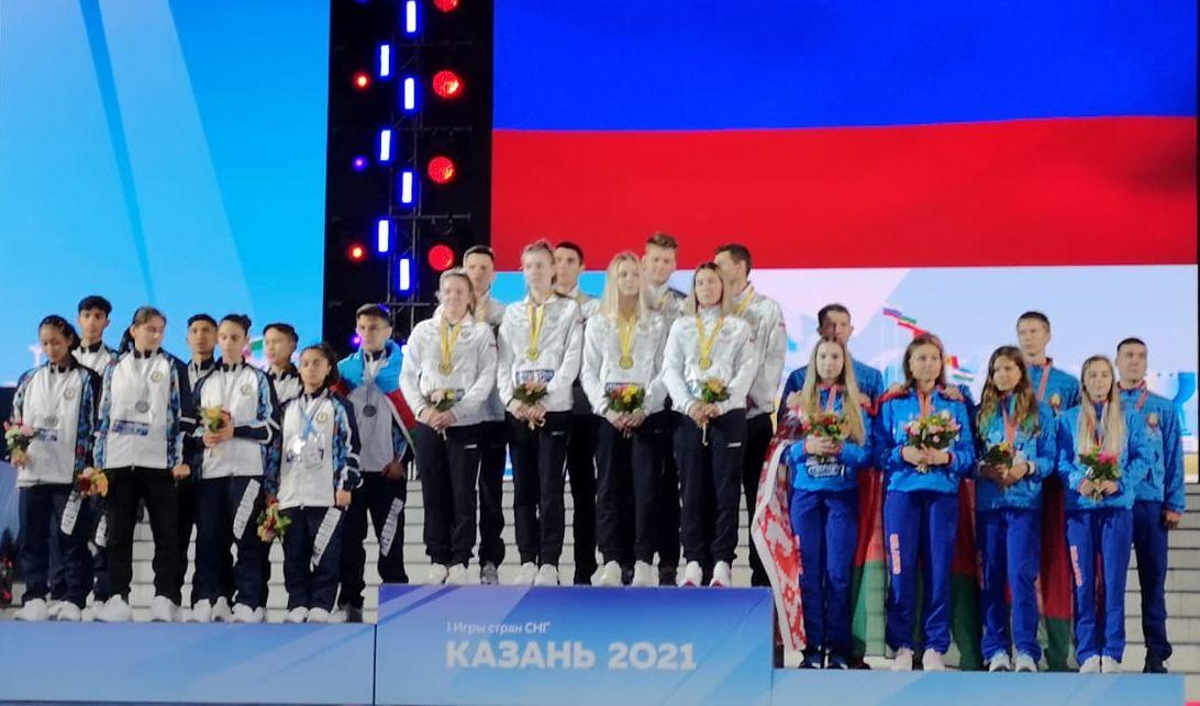Юная нижегородка победила в турнире по бадминтону I Игр стран СНГ в составе российской команды