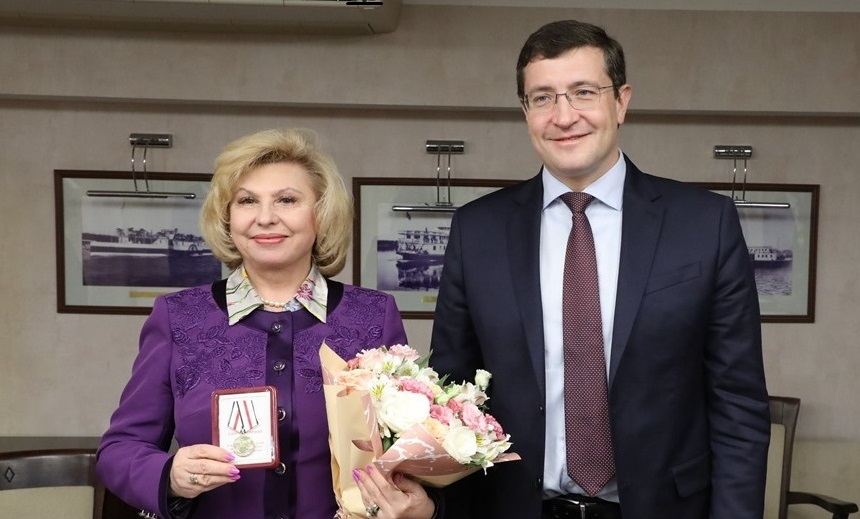 Глеб Никитин провел рабочую встречу суполномоченным поправам человека вРоссии Татьяной Москальковой