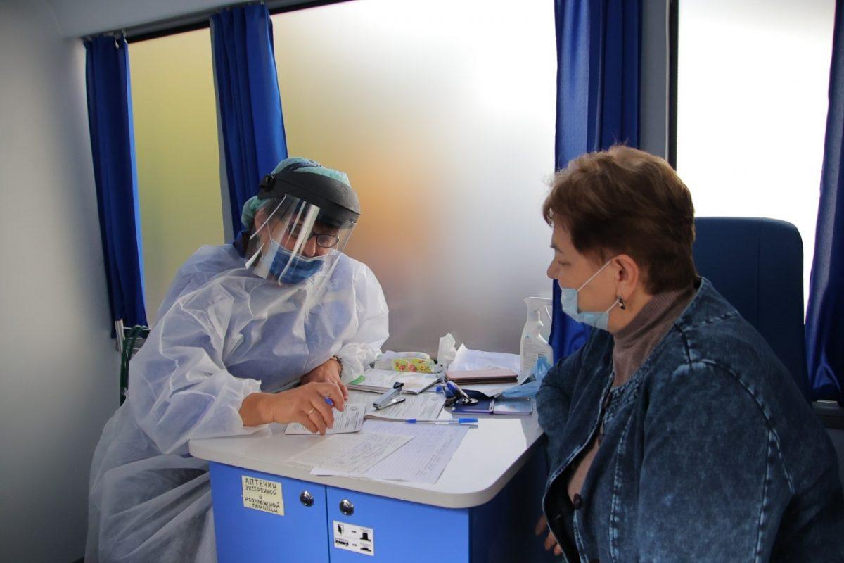 Более 260 человек посетили «Поезд здоровья» за три дня в Дзержинске
