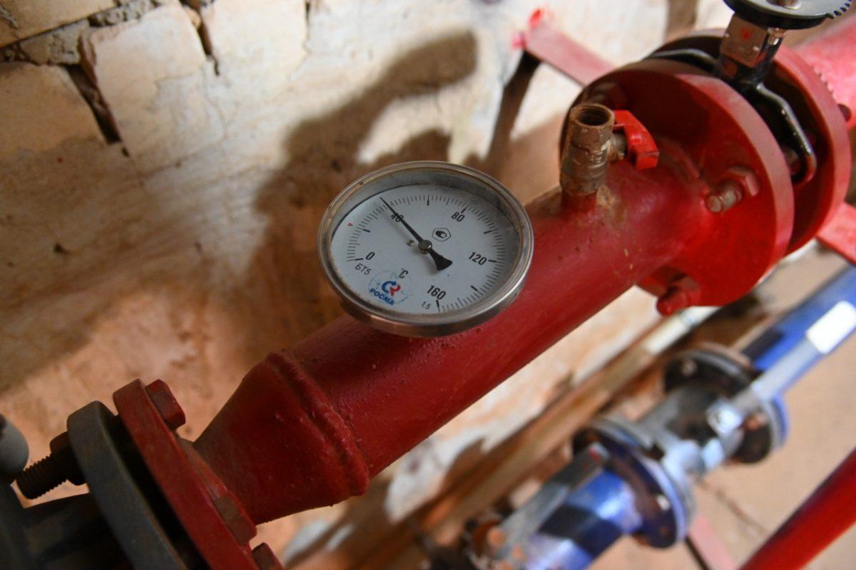 Большая часть домов Дзержинска уже обеспечена отоплением