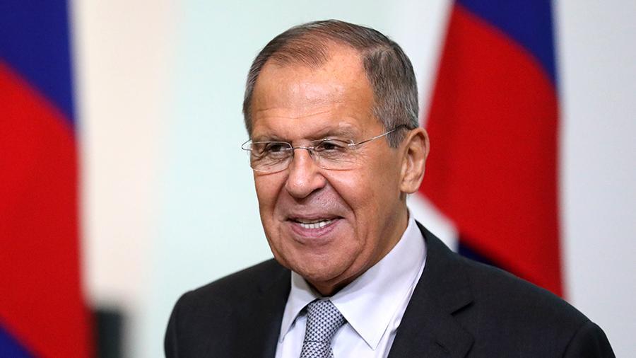 Министр иностранных дел России поприветствовал участников Международного форума