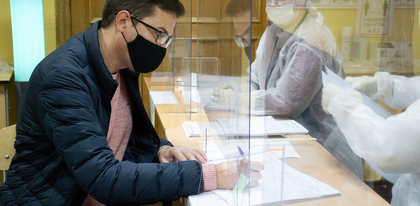 Глава Нижнего Новгорода Юрий Шалабаев проголосовал на выборах