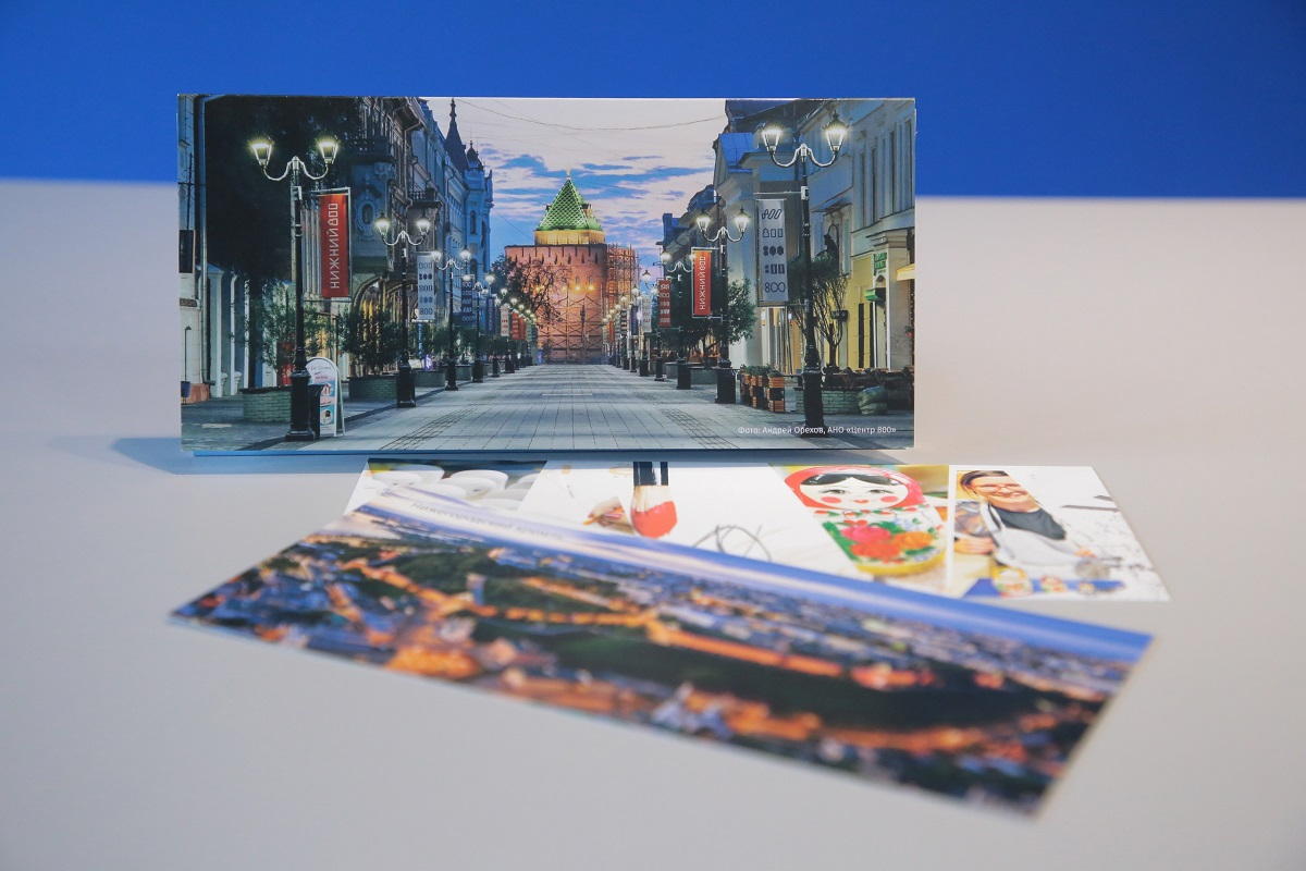 Нижегородские картинки: знаковые виды города можно найти в наборе почтовых открыток, выпущенных НОИЦ
