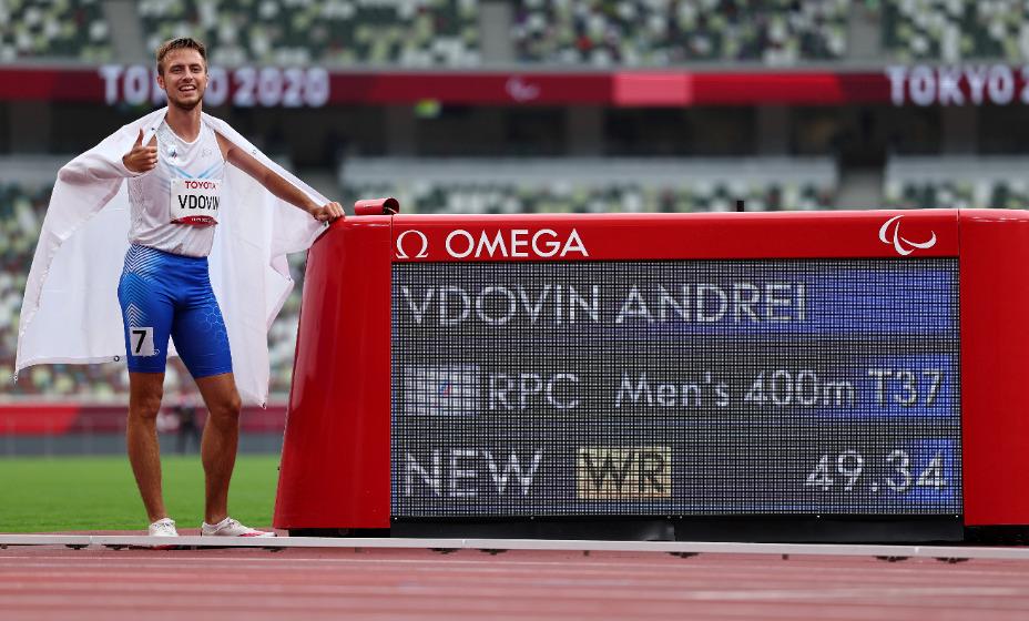 Дзержинский легкоатлет Андрей Вдовин выиграл золото на Паралимпиаде в Токио с мировым рекордом