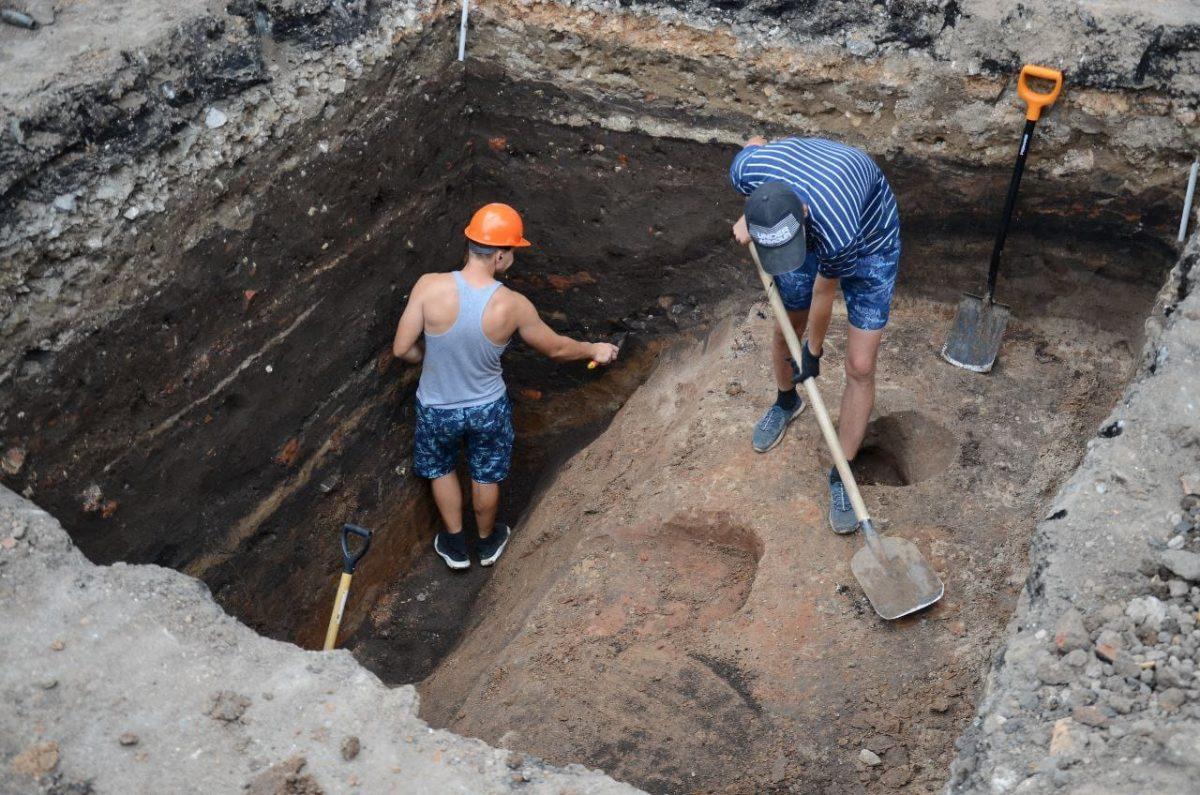 Археологи нашли следы древней крепости в Арзамасе