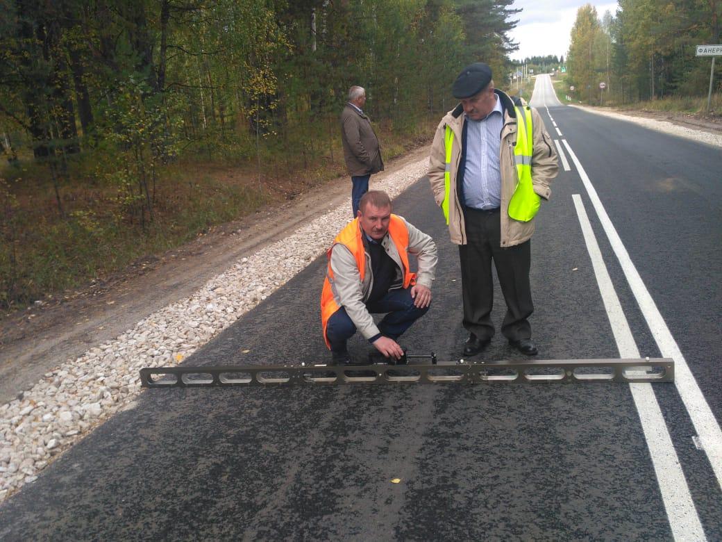 ВНижегородской области завершился ремонт участка дороги Семенов— Ильино-Заборское— Ковернино