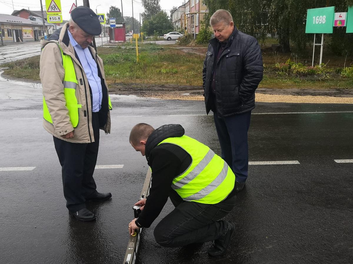 Дорогу вПильне отремонтировали сверх плана понацпроекту «Безопасные качественные дороги»