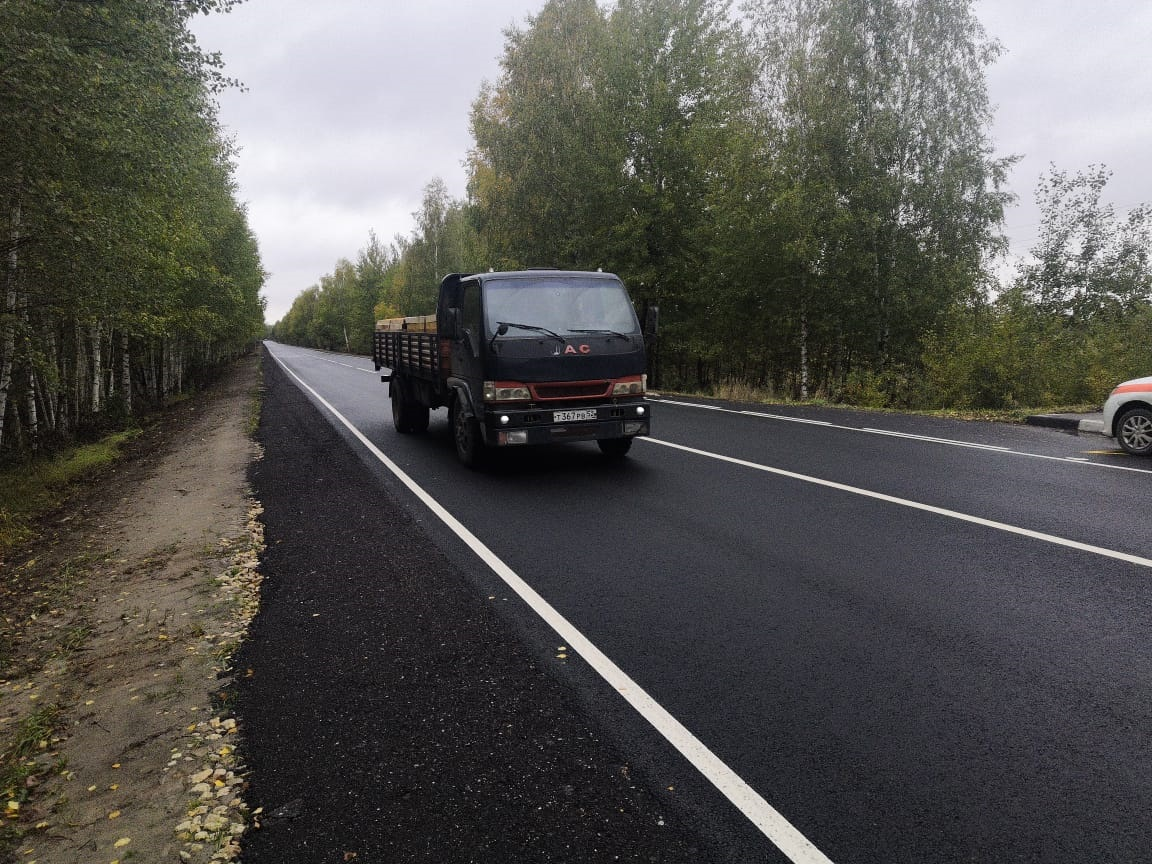 Ремонт дороги Городец— Зиняки— Кантаурово вНижегородской области планируют завершить вначале октября