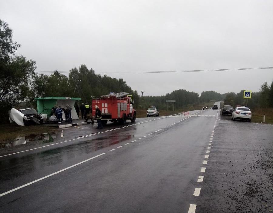Водитель иномарки сбил пенсионерку на остановке в Нижегородской области