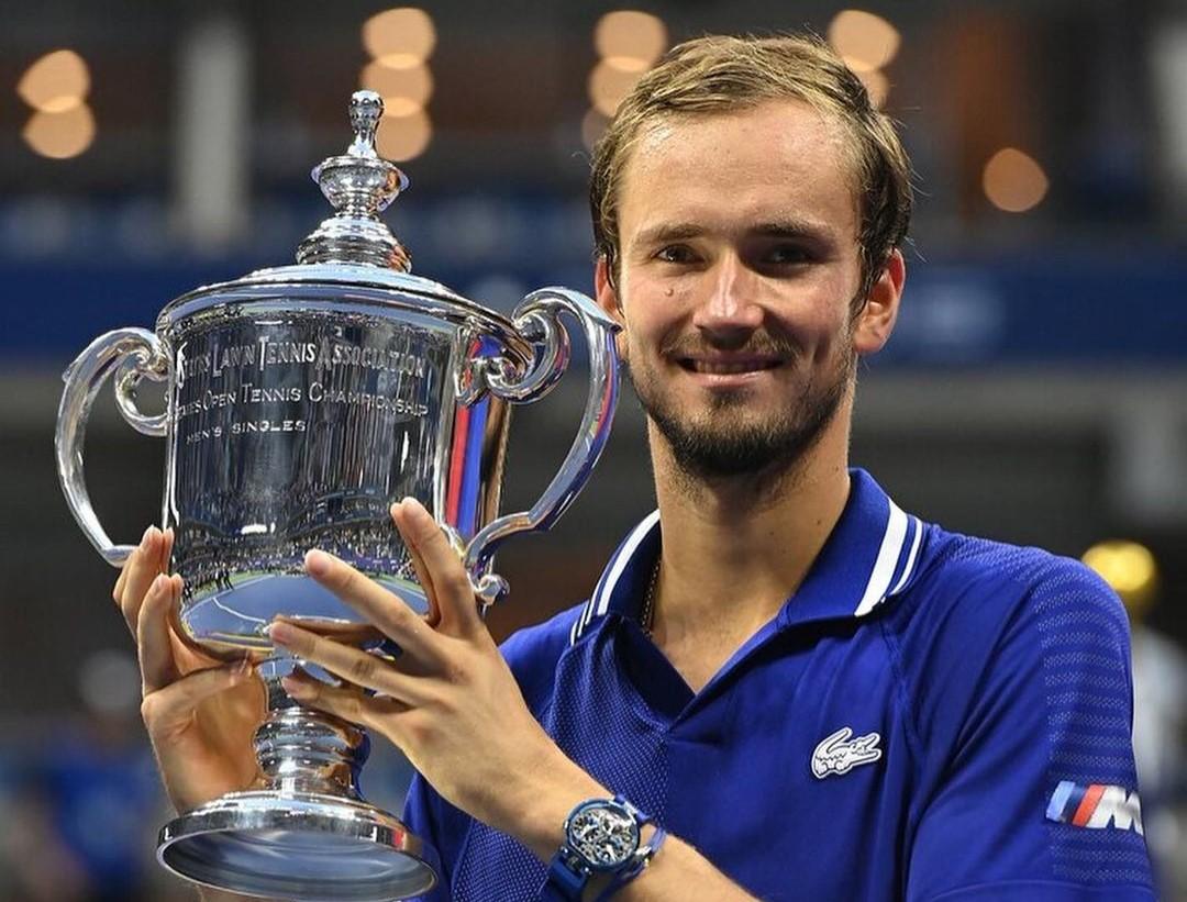 Российский теннисист Даниил Медведев прокомментировал свою победу на чемпионате в США
