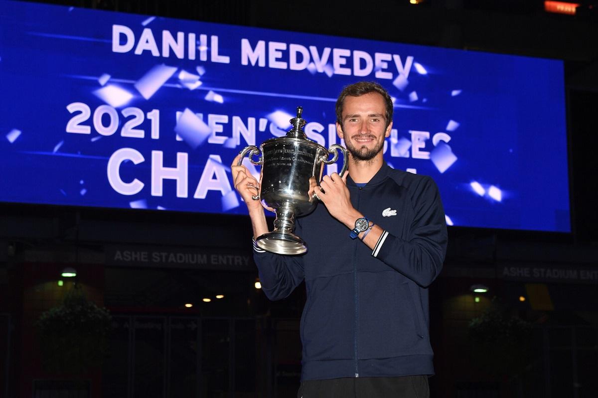 Российский теннисист Даниил Медведев выиграл US Open