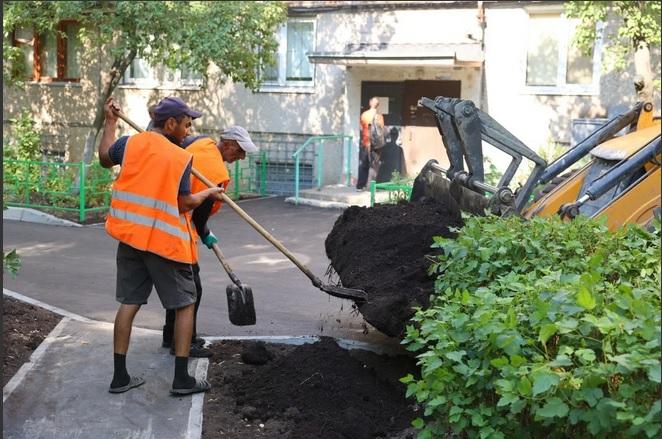 ВДзержинске завершается благоустройство более 20 дворов понацпроекту «Жилье игородская среда»