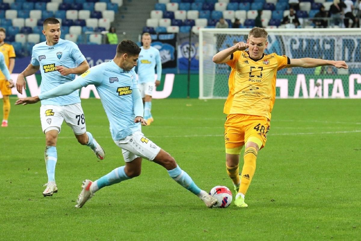 Футболисты «Нижнего Новгорода» потерпели обидное поражение от тульского «Арсенала»