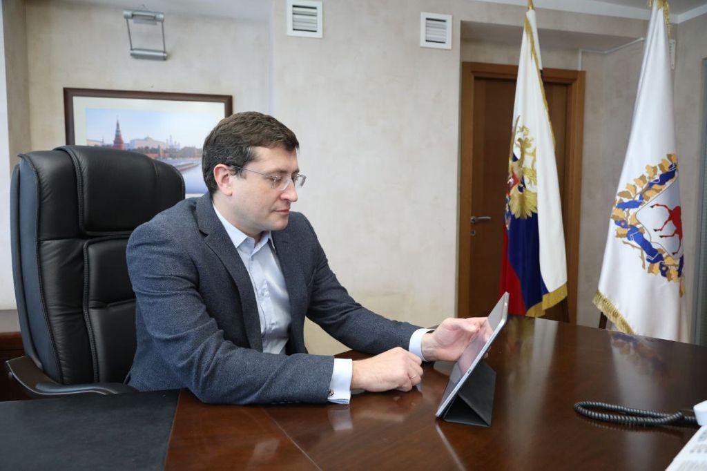 Глеб Никитин проголосовал на выборах в онлайн-режиме