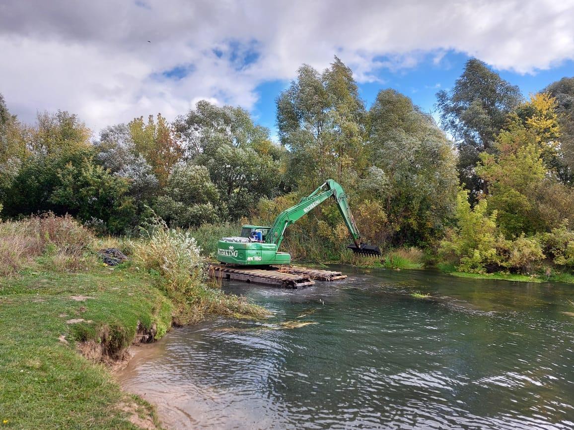 Более 10 километров русла реки Теши вАрзамасе расчистят доконца ноября