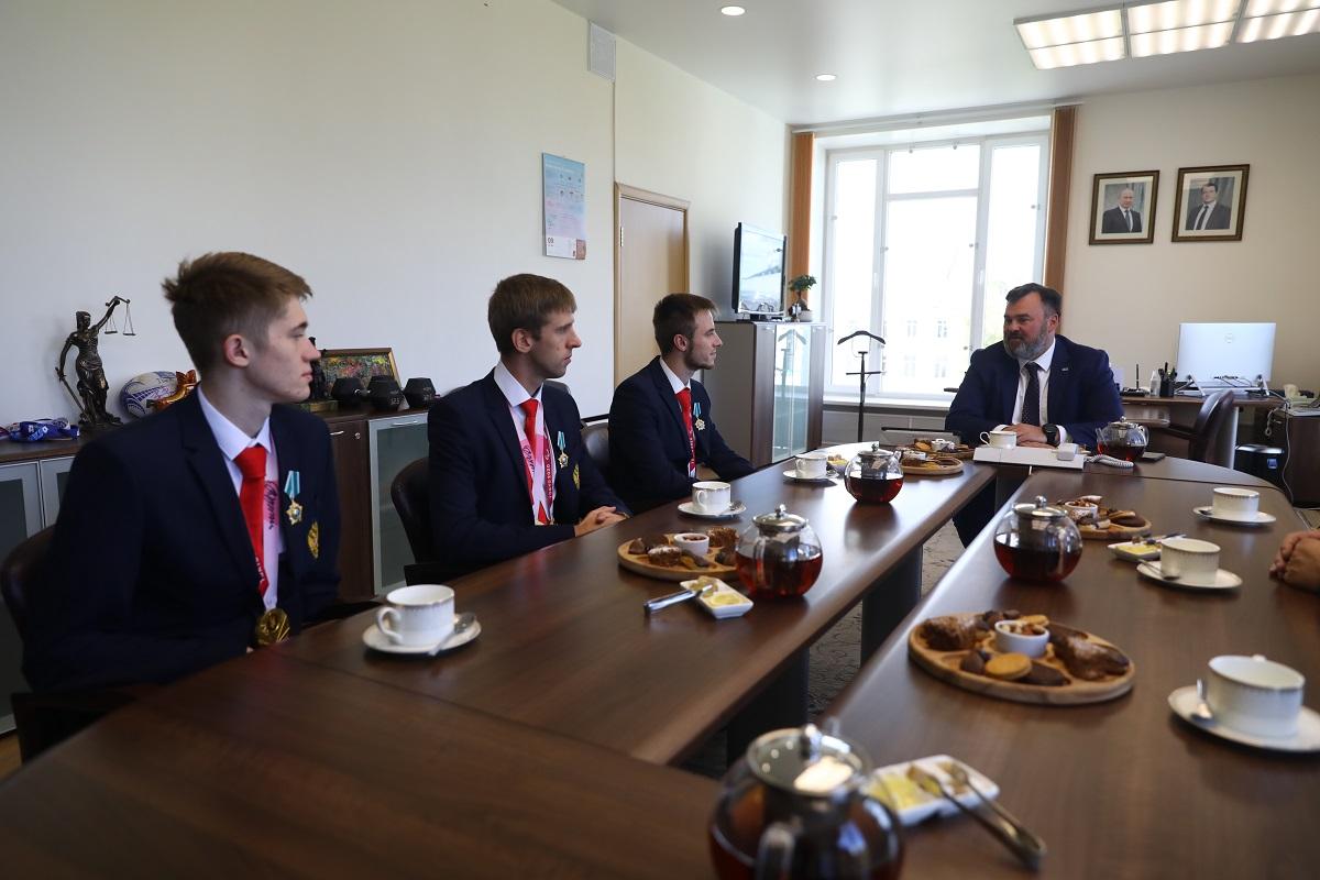 Андрей Бетин: «Наши паралимпийцы прославили Нижегородскую область»