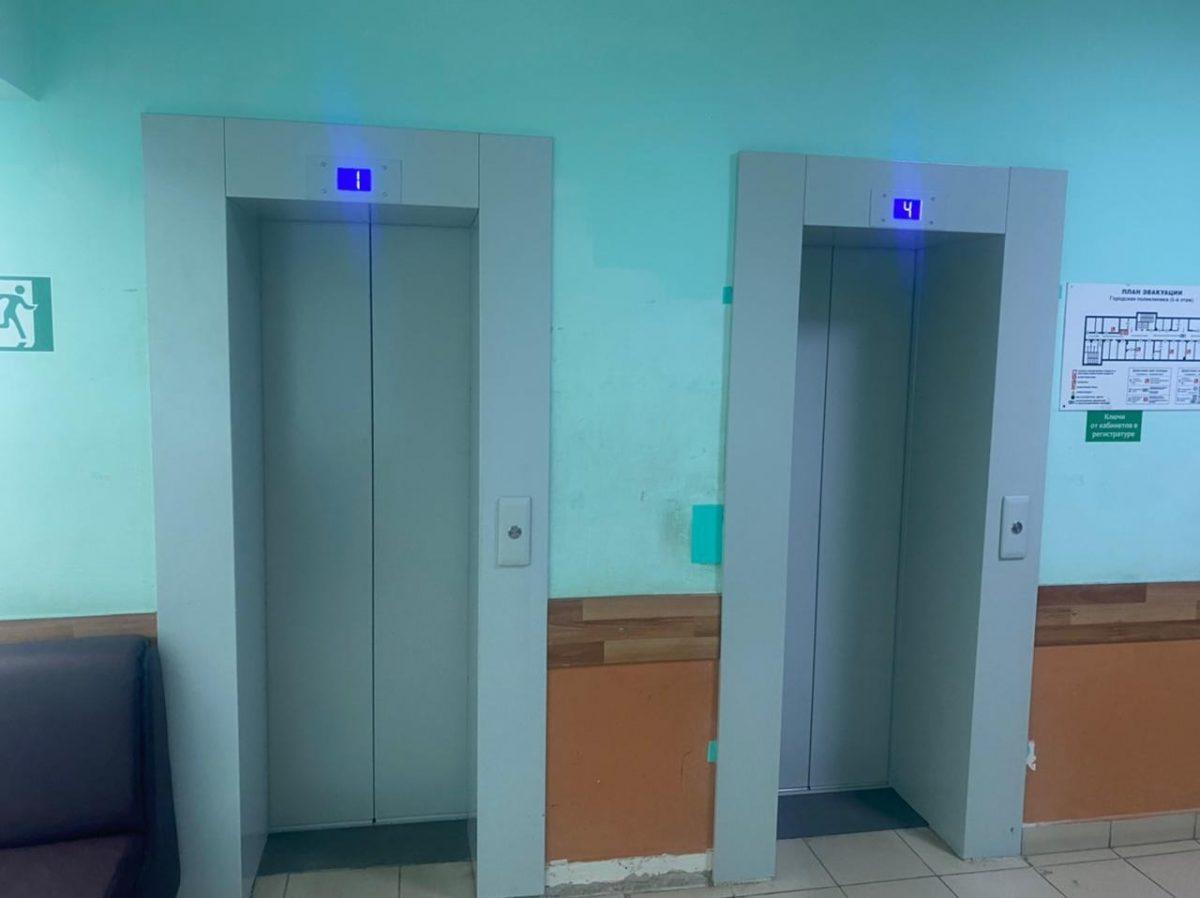 Лифты и систему вентиляции заменили в Выксунской больнице