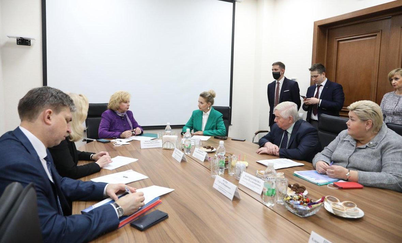 Уполномоченный по правам человека в РФ Татьяна Москалькова провела встречу с председателем избирательной комиссии Нижегородской области