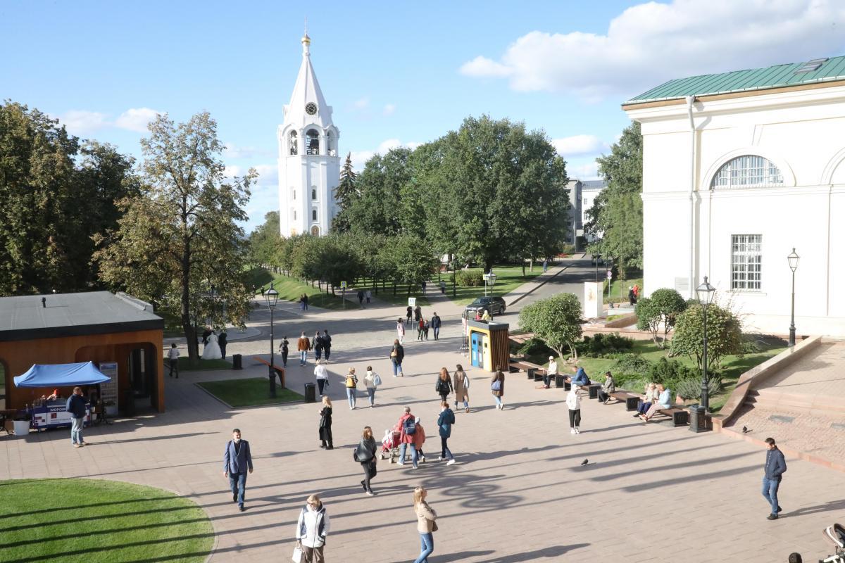 Киоски со снеками и напитками появятся на территории Нижегородского кремля