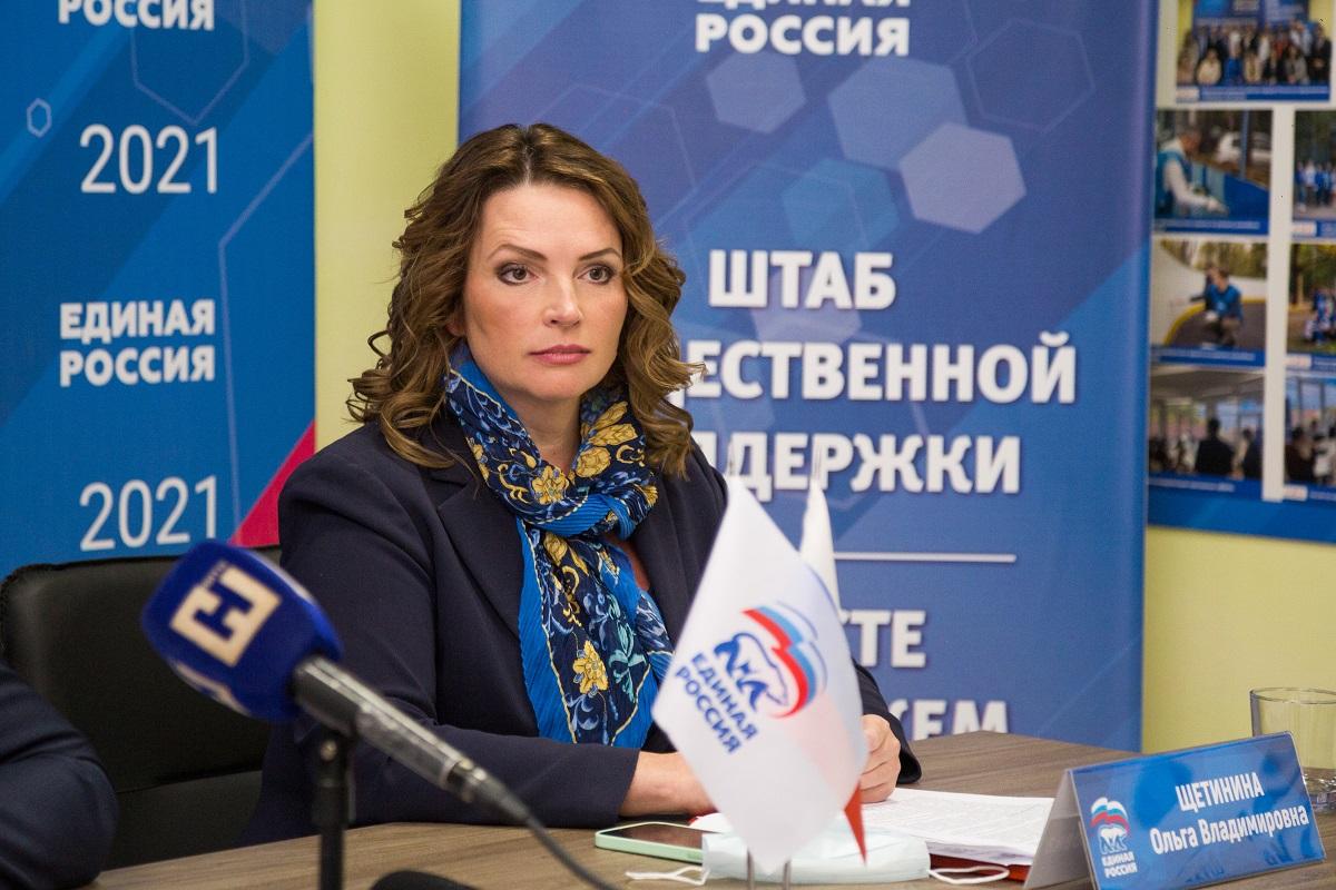 Ольга Щетинина: «Я не сомневаюсь, что с такой командой под руководством Глеба Никитина мы сможем выполнить все свои обещания»