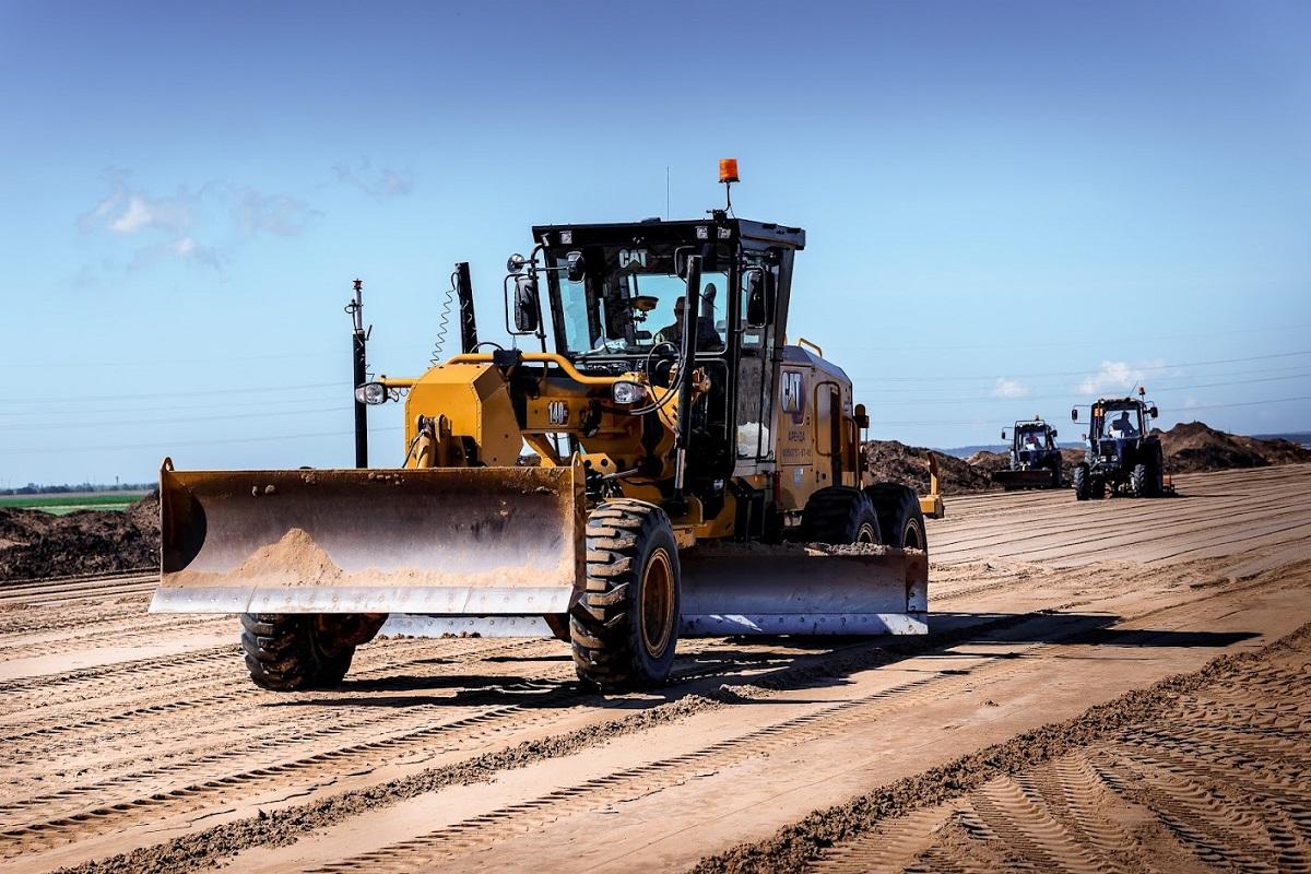 ТАСС. Для строительства М-12 организовали 27 стройгородков и 269 км временных дорог