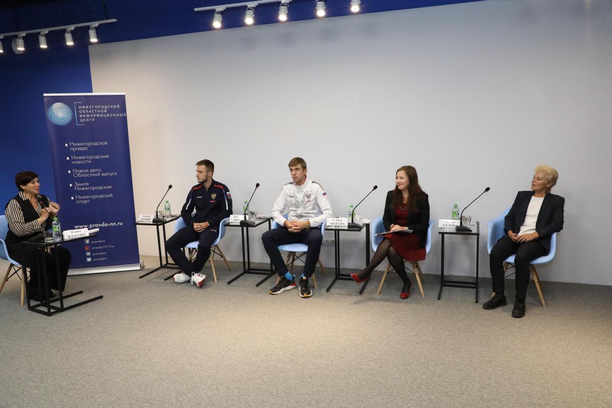 В Нижегородском областном информационном центре прошла пресс-конференция, посвящённая Дню бега