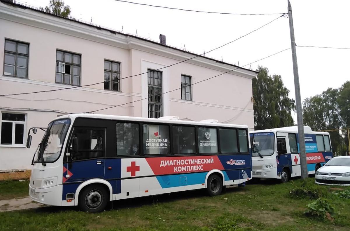 Более 300 населенных пунктов в регионе посетили «Поезда здоровья»