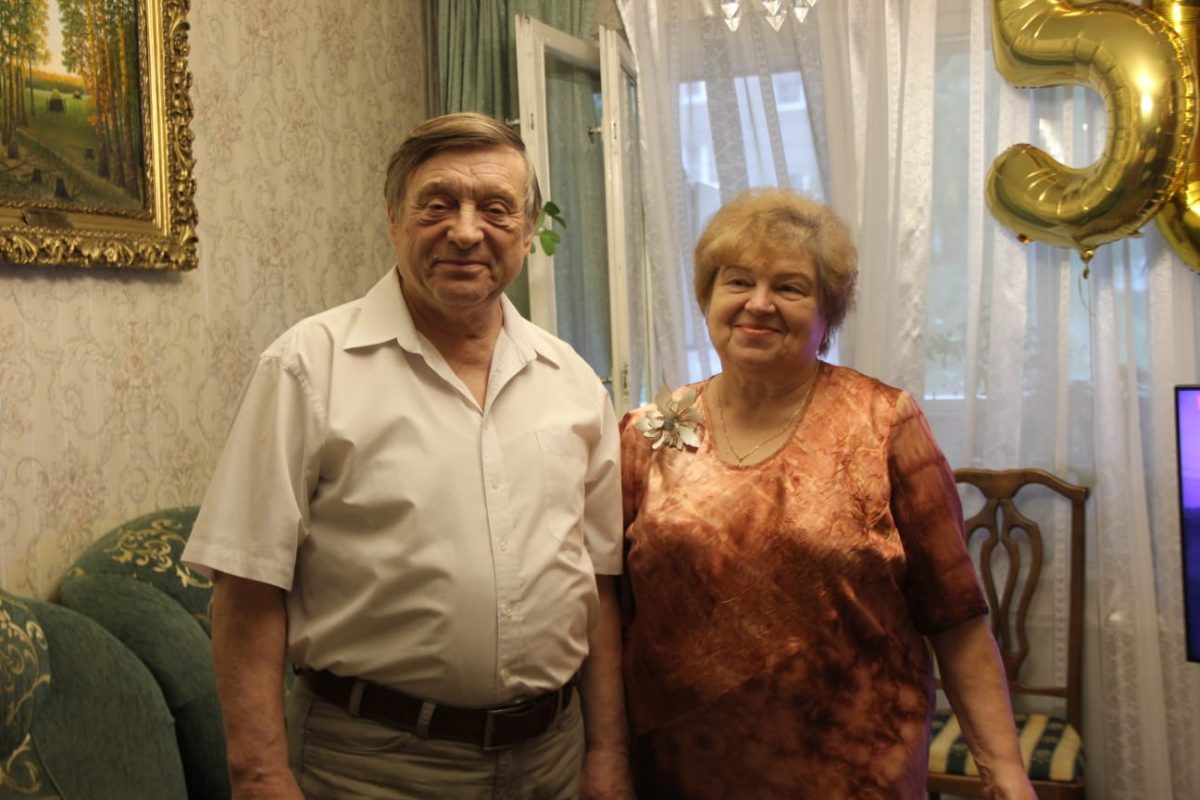 Супружеская пара из Нижнего Новгорода отметила «золотую» свадьбу