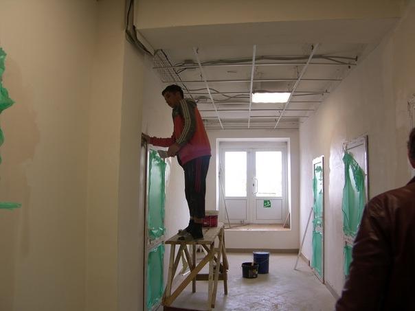 ВСергаче завершается капитальный ремонт терапевтического корпуса центральной районной больницы
