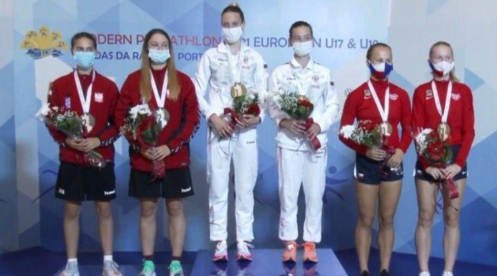 16-летняя нижегородка Елизавета Скуднякова завоевала золото в эстафете по троеборью на первенстве Европы