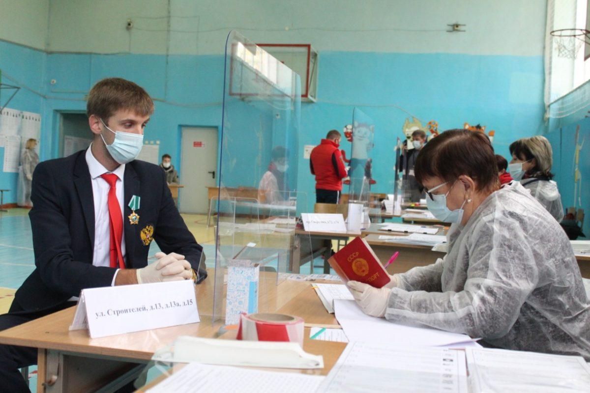 Дзержинские чемпионы-паралимпийцы проголосовали на выборах