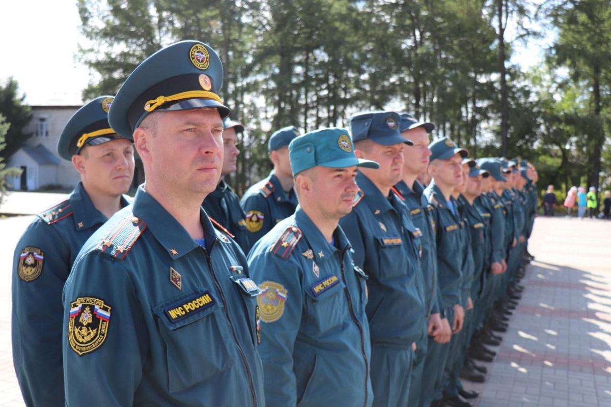 Пожарные из других регионов покинули Первомайский район