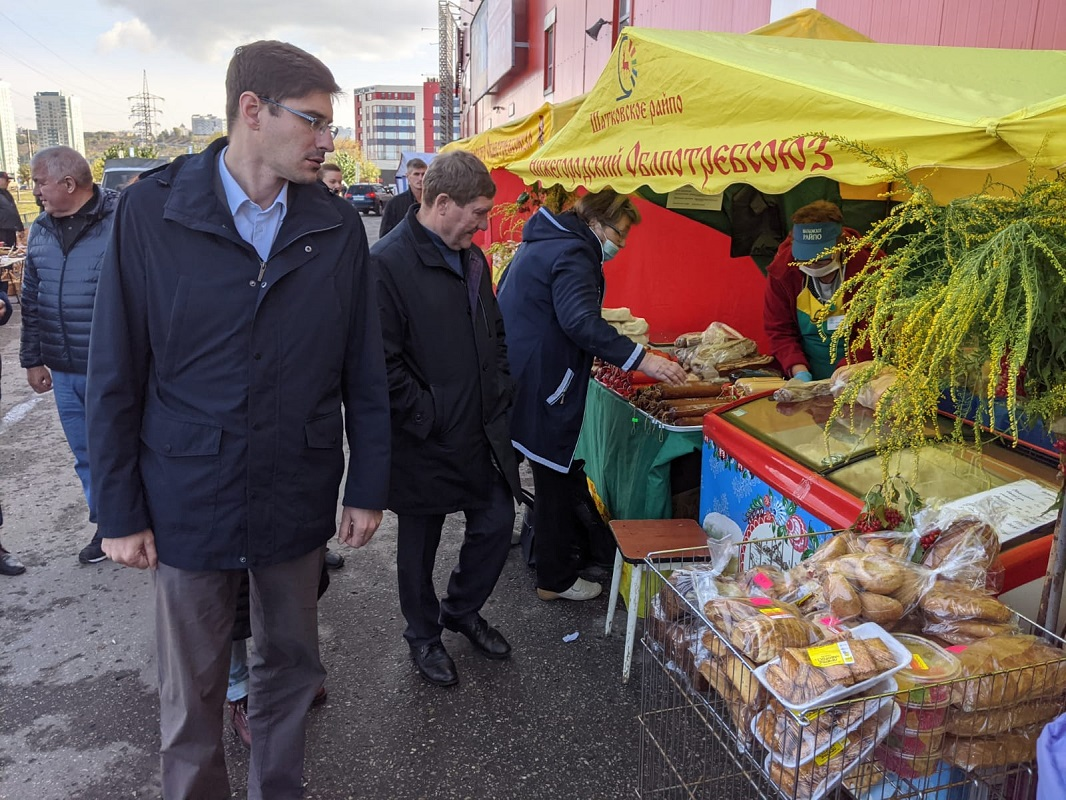Более 40 предприятий представили свою продукцию на сельскохозяйственной ярмарке в Нижнем Новгороде