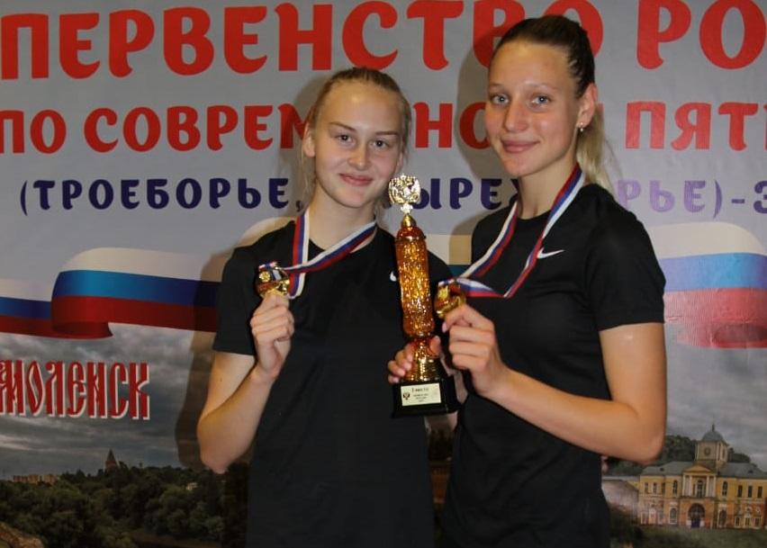 Нижегородцы завоевали две золотые медали наПервенстве России посовременному пятиборью