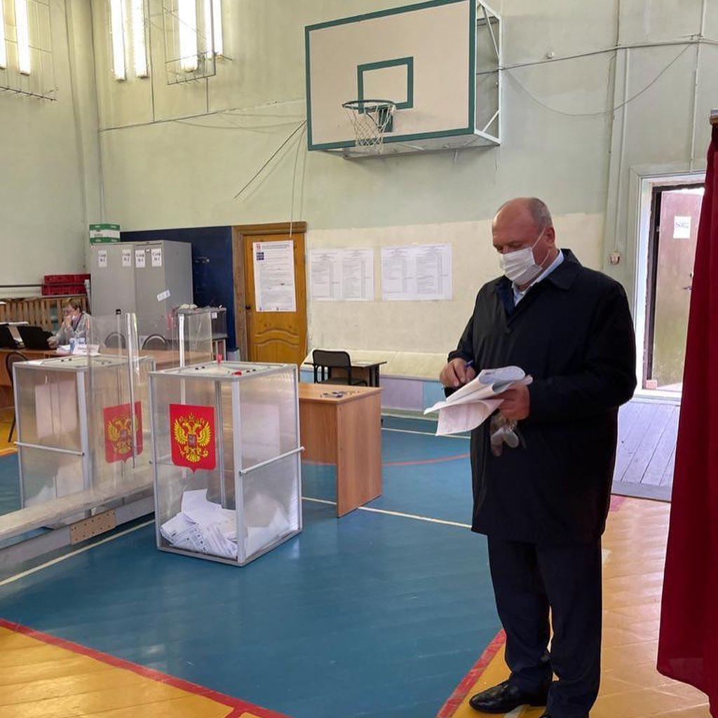 Депутаты Законодательного собрания Нижегородской области проголосовали на выборах
